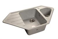 Мойка для кухни GranFest CORNER C-950 E  (C-950 E  серый) 485x930