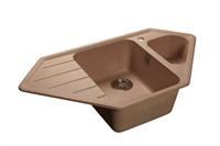 Мойка для кухни GranFest CORNER C-950 E  (C-950 E  бежевый) 485x930