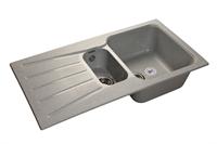 Мойка для кухни GranFest STANDART S-940 KL  (S-940 KL  серый) 492x927