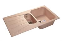 Мойка для кухни GranFest STANDART S-940 KL  (S-940 KL  светло-розовый) 492x927