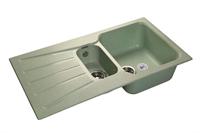 Мойка для кухни GranFest STANDART S-940 KL  (S-940 KL  салатовый) 492x927