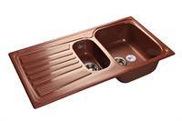 Мойка для кухни GranFest STANDART S-940 KL  (S-940 KL  красный марс) 492x927