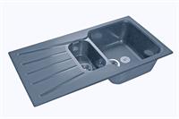 Мойка для кухни GranFest STANDART S-940 KL  (S-940 KL  графит) 492x927
