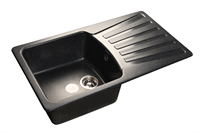 Мойка для кухни GranFest STANDART S-850 L  (S-850 L  черный) 475x830