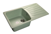 Мойка для кухни GranFest STANDART S-850 L  (S-850 L  салатовый) 475x830