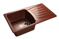 Мойка для кухни GranFest STANDART S-850 L  (S-850 L  красный марс) 475x830