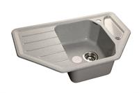 Мойка для кухни GranFest CORNER C-800 E  (C-800 E  серый) 490x790
