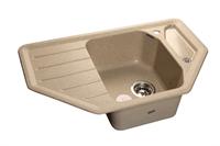 Мойка для кухни GranFest CORNER C-800 E  (C-800 E  песок) 490x790