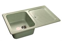 Мойка для кухни GranFest STANDART S-780 L  (S-780 L  салатовый) 500x775