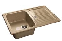 Мойка для кухни GranFest STANDART S-780 L  (S-780 L  песок) 500x775