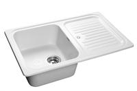 Мойка для кухни GranFest STANDART S-780 L  (S-780 L  иней) 500x775