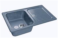 Мойка для кухни GranFest STANDART S-780 L  (S-780 L  графит) 500x775