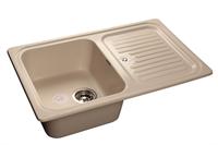 Мойка для кухни GranFest STANDART S-780 L  (S-780 L  белый) 500x775