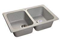 Мойка для кухни GranFest STANDART S-780 K  (S-780 K  серый) 500x786