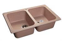 Мойка для кухни GranFest STANDART S-780 K  (S-780 K  светло-розовый) 500x786
