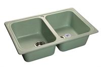 Мойка для кухни GranFest STANDART S-780 K  (S-780 K  салатовый) 500x786