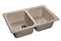 Мойка для кухни GranFest STANDART S-780 K  (S-780 K  белый) 500x786