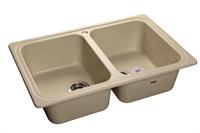 Мойка для кухни GranFest STANDART S-780 K  (S-780 K  бежевый) 500x786
