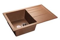 Мойка для кухни GranFest QUADRO Q-780 L  (Q-780 L  терракот) 495x770