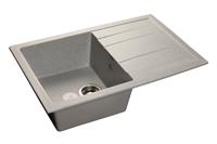 Мойка для кухни GranFest QUADRO Q-780 L  (Q-780 L  серый) 495x770