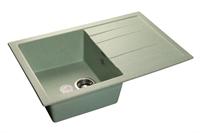 Мойка для кухни GranFest QUADRO Q-780 L  (Q-780 L  салатовый) 495x770