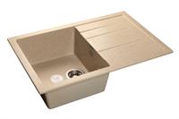 Мойка для кухни GranFest QUADRO Q-780 L  (Q-780 L  песок) 495x770