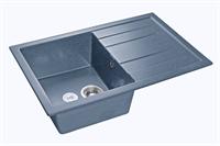 Мойка для кухни GranFest QUADRO Q-780 L  (Q-780 L  графит) 495x770