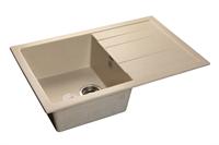 Мойка для кухни GranFest QUADRO Q-780 L  (Q-780 L  бежевый) 495x770