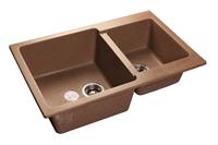Мойка для кухни GranFest PRACTIK P-780 K  (P-780 K  терракот) 506x775