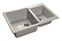 Мойка для кухни GranFest PRACTIK P-780 K  (P-780 K  серый) 506x775