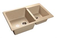 Мойка для кухни GranFest PRACTIK P-780 K  (P-780 K  песок) 506x775