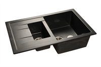 Мойка для кухни GranFest QUADRO Q-775 KL  (Q-775 KL  черный) 495x765