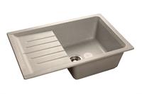 Мойка для кухни GranFest PRACTIK P-760 L  (P-760 L  серый) 495x756