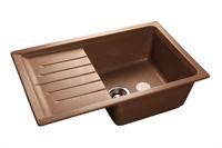Мойка для кухни GranFest PRACTIK P-760 L  (P-760 L  терракот) 495x756
