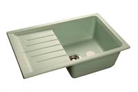 Мойка для кухни GranFest PRACTIK P-760 L  (P-760 L  салатовый) 495x756