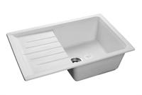 Мойка для кухни GranFest PRACTIK P-760 L  (P-760 L  иней) 495x756