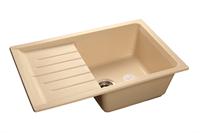 Мойка для кухни GranFest PRACTIK P-760 L  (P-760 L  бежевый) 495x756