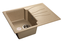 Мойка для кухни GranFest STANDART S-680 L  (S-680 L  песок) 498x680
