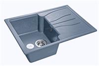 Мойка для кухни GranFest STANDART S-680 L  (S-680 L  графит) 498x680