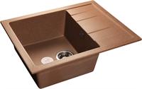 Мойка для кухни GranFest QUADRO Q-650 L  (Q-650 L  терракот) 500x650