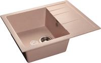Мойка для кухни GranFest QUADRO Q-650 L  (Q-650 L  светло-розовый) 500x650
