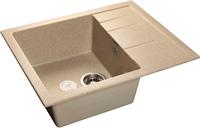 Мойка для кухни GranFest QUADRO Q-650 L  (Q-650 L  песок) 500x650