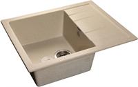 Мойка для кухни GranFest QUADRO Q-650 L  (Q-650 L  бежевый) 500x650
