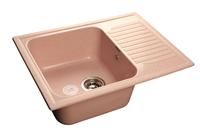 Мойка для кухни GranFest STANDART S-645 L  (S-645 L  светло-розовый) 498x645