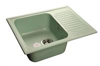 Мойка для кухни GranFest STANDART S-645 L  (S-645 L  салатовый) 498x645