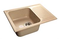 Мойка для кухни GranFest STANDART S-645 L  (S-645 L  песок) 498x645