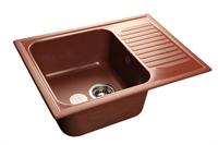 Мойка для кухни GranFest STANDART S-645 L  (S-645 L  красный марс) 498x645