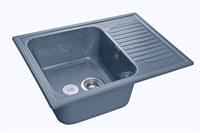Мойка для кухни GranFest STANDART S-645 L  (S-645 L  графит) 498x645
