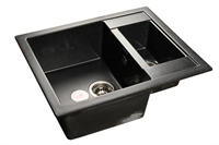 Мойка для кухни GranFest QUADRO Q-610 K  (Q-610 K  черный) 610x500