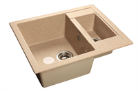 Мойка для кухни GranFest QUADRO Q-610 K  (Q-610 K  песок) 610x500